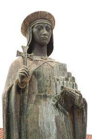 Estatua de Muniadona Díaz