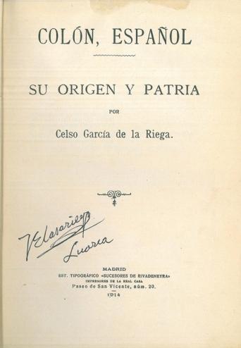 Colón español (1914)