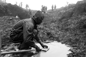 Mina de coltán do Congo