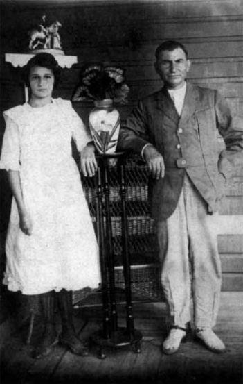 Ángel Castro e Lina Ruz.