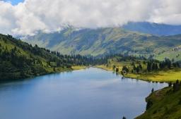 Paisaxe suizo (Camino Granado)